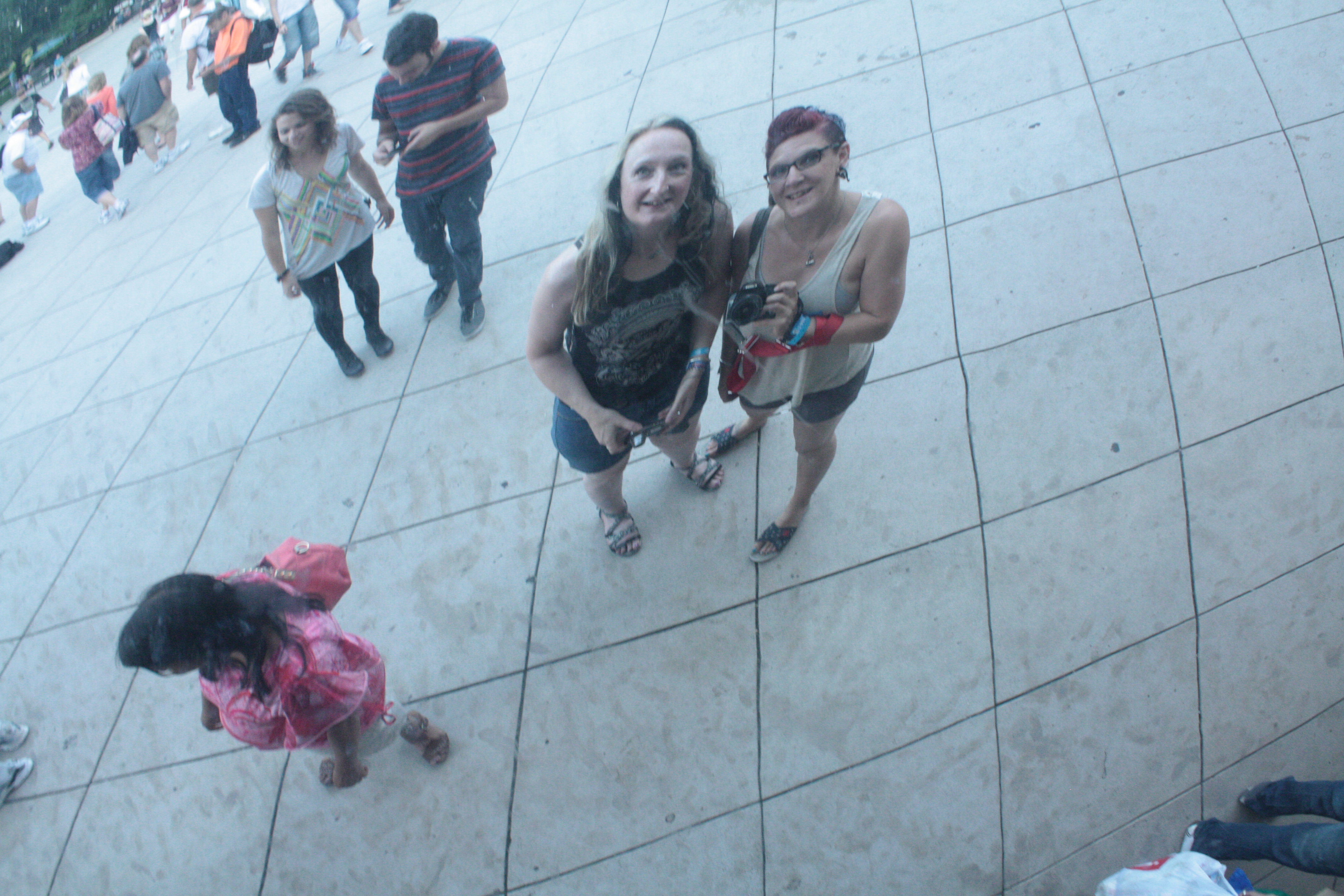 Our reflection in the Bean