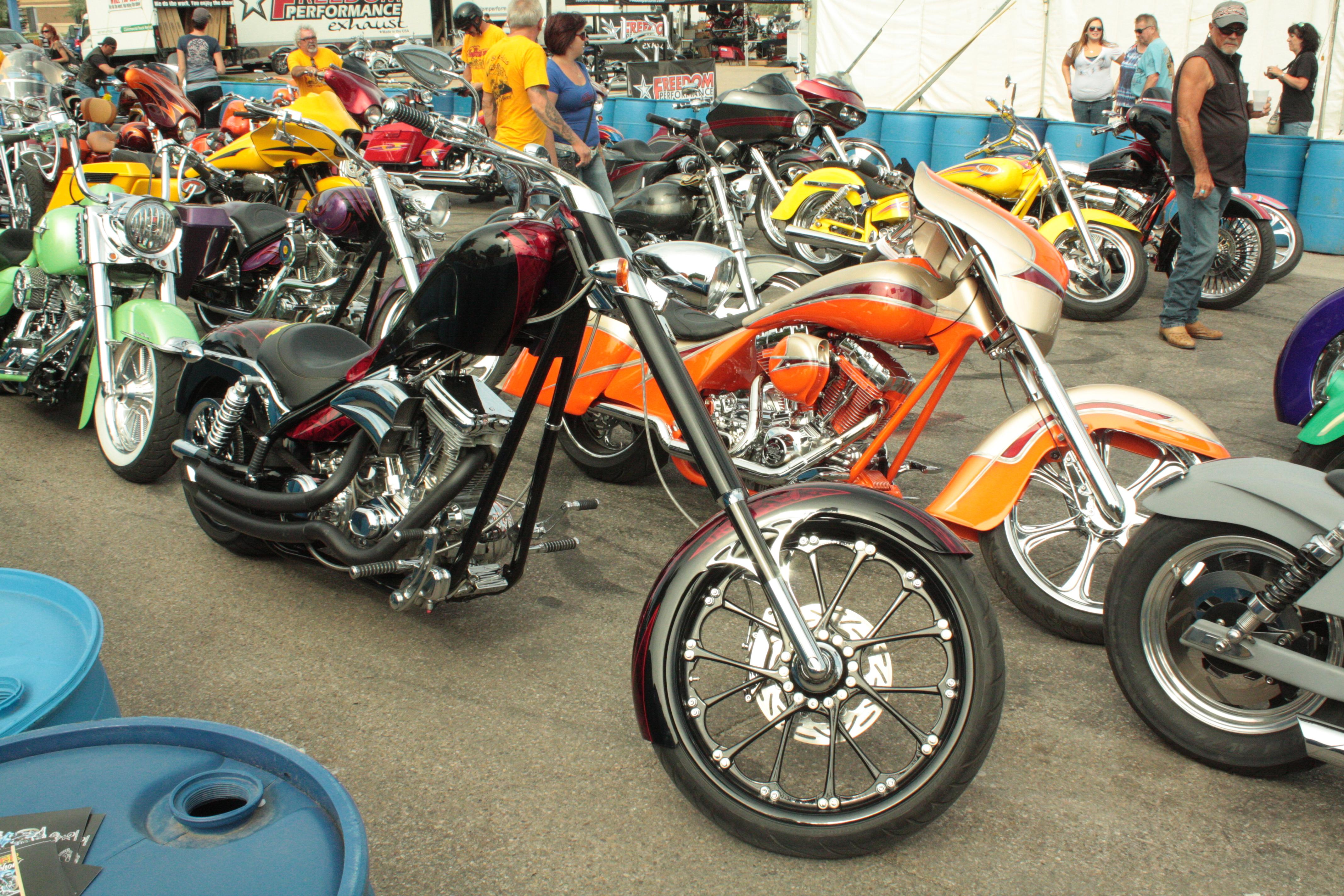 Bikes at Sturgis