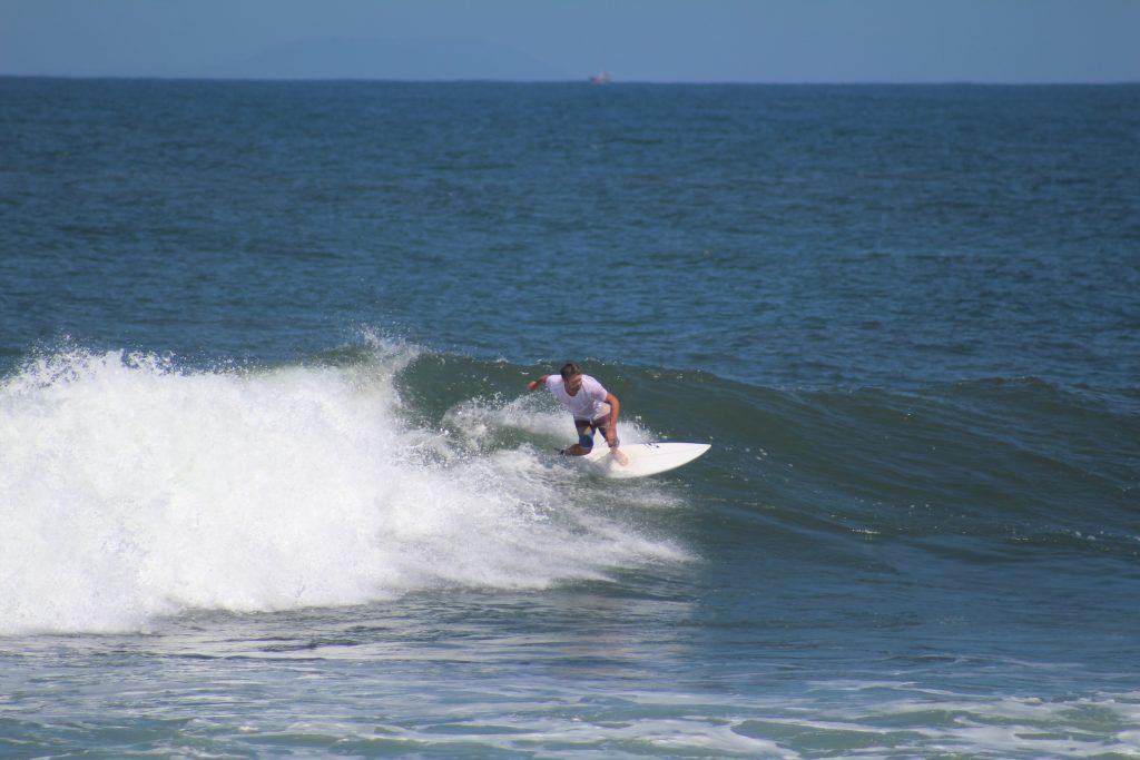 Surfer in Medwei