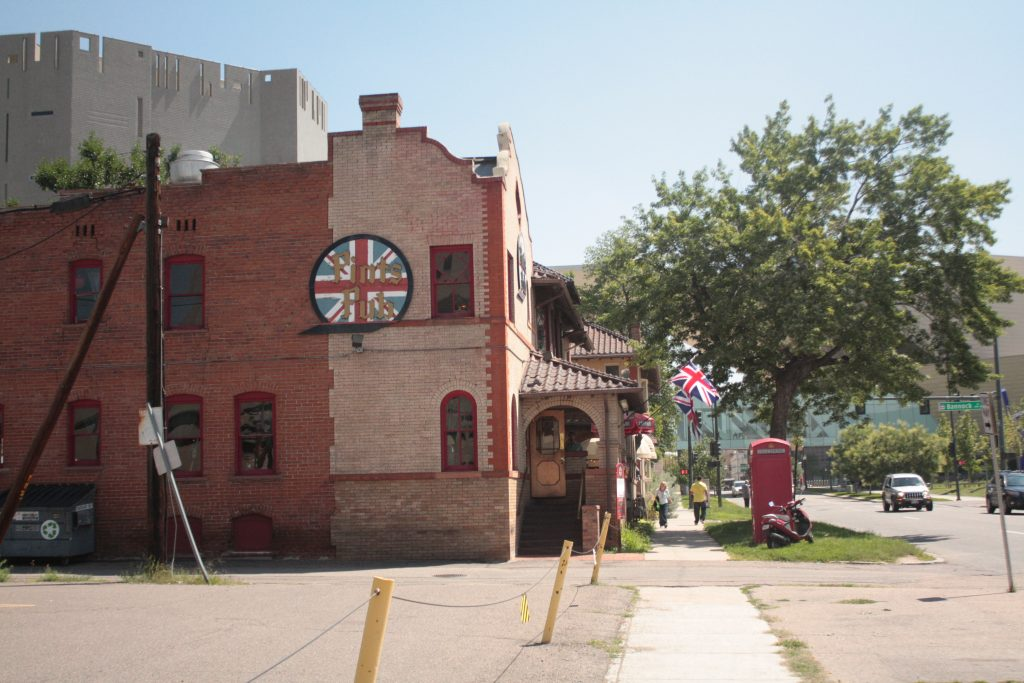 British pub in Denver