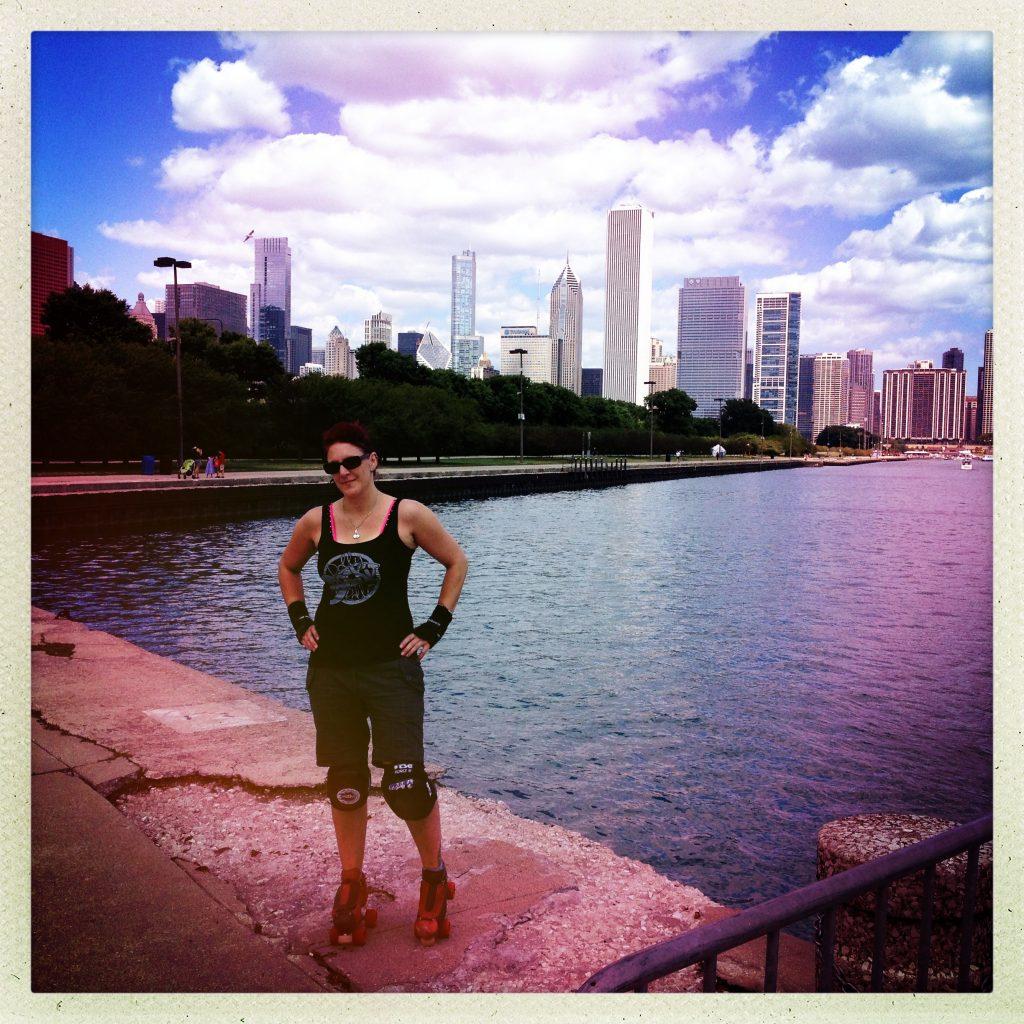 Skating Chicago