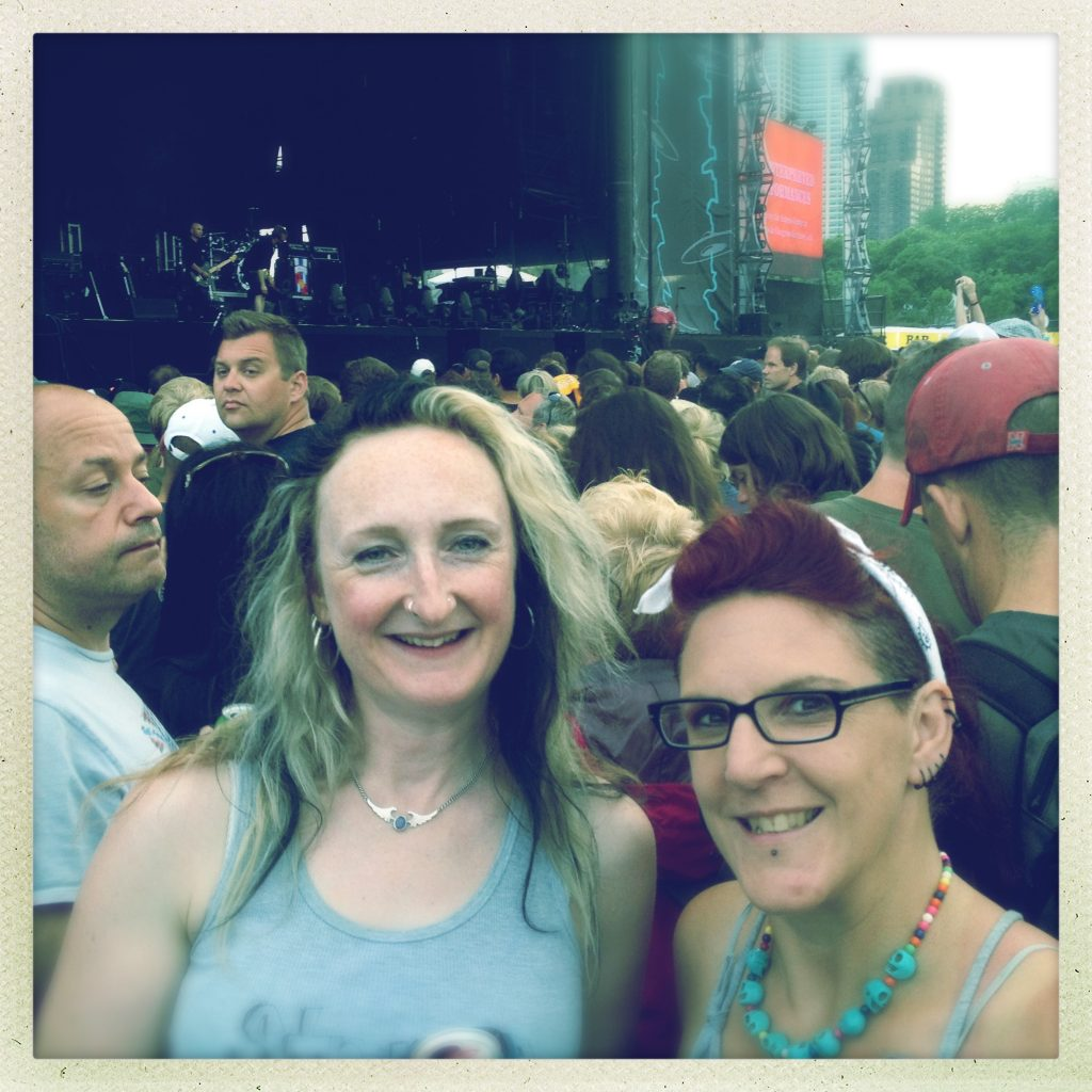 Waiting for The Cure at Lolla