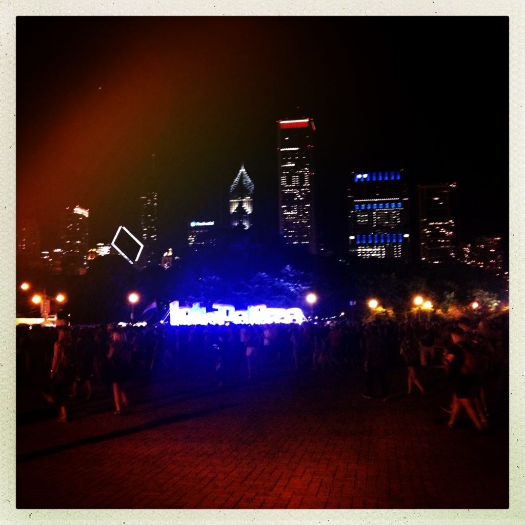Goodbye Lollapalooza!