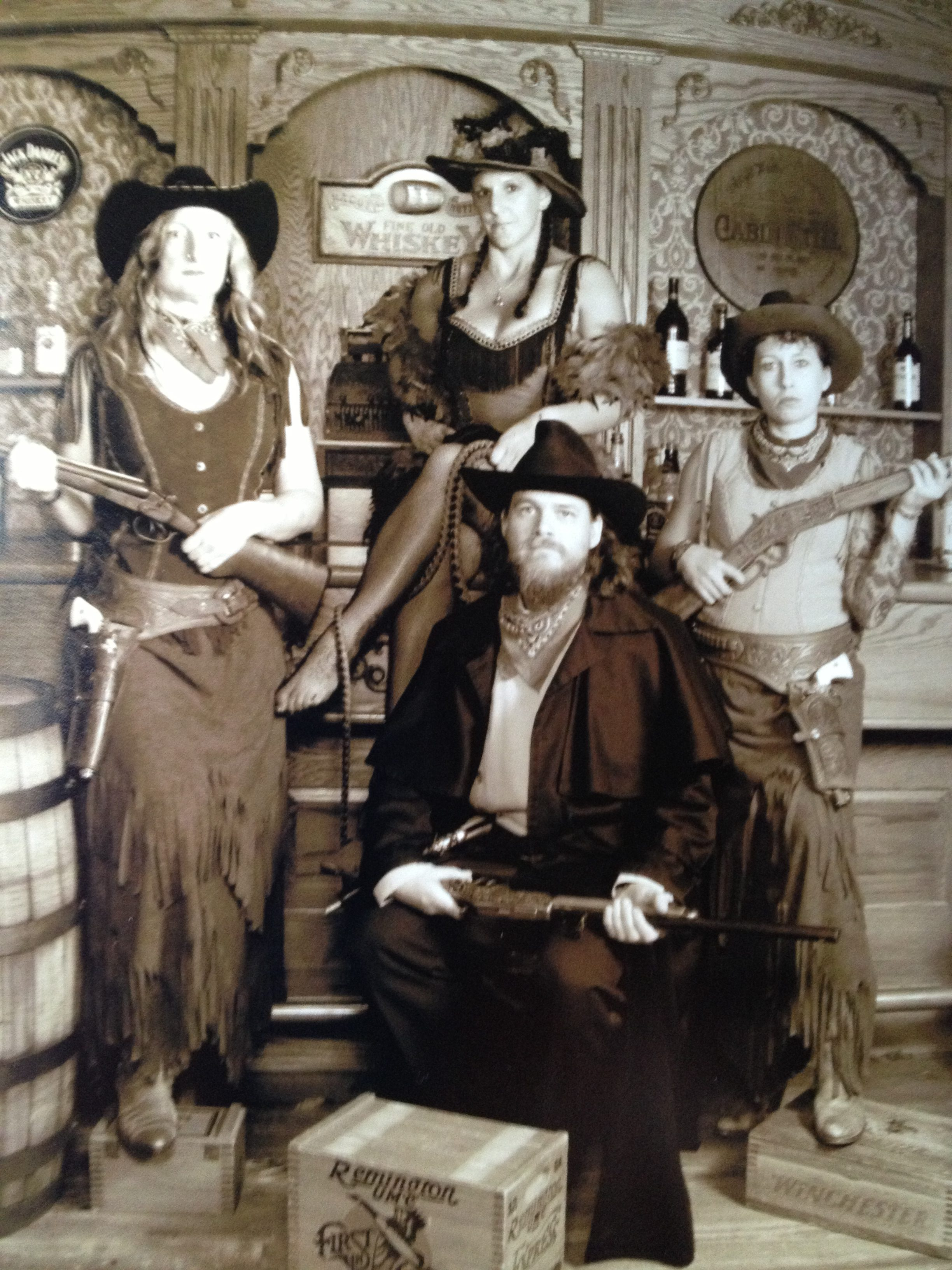 Us in the Old West!