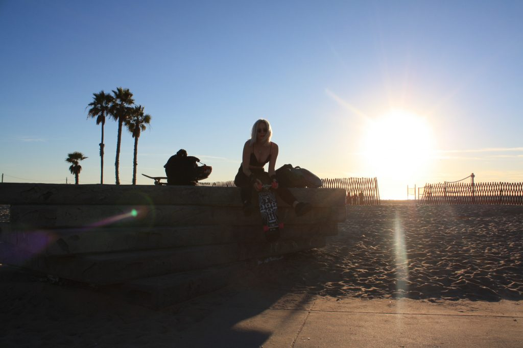 Karis on Venice Beach