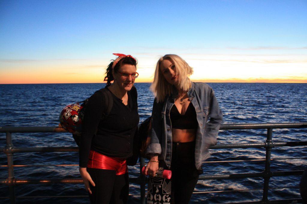Me & Karis on Santa Monica Pier