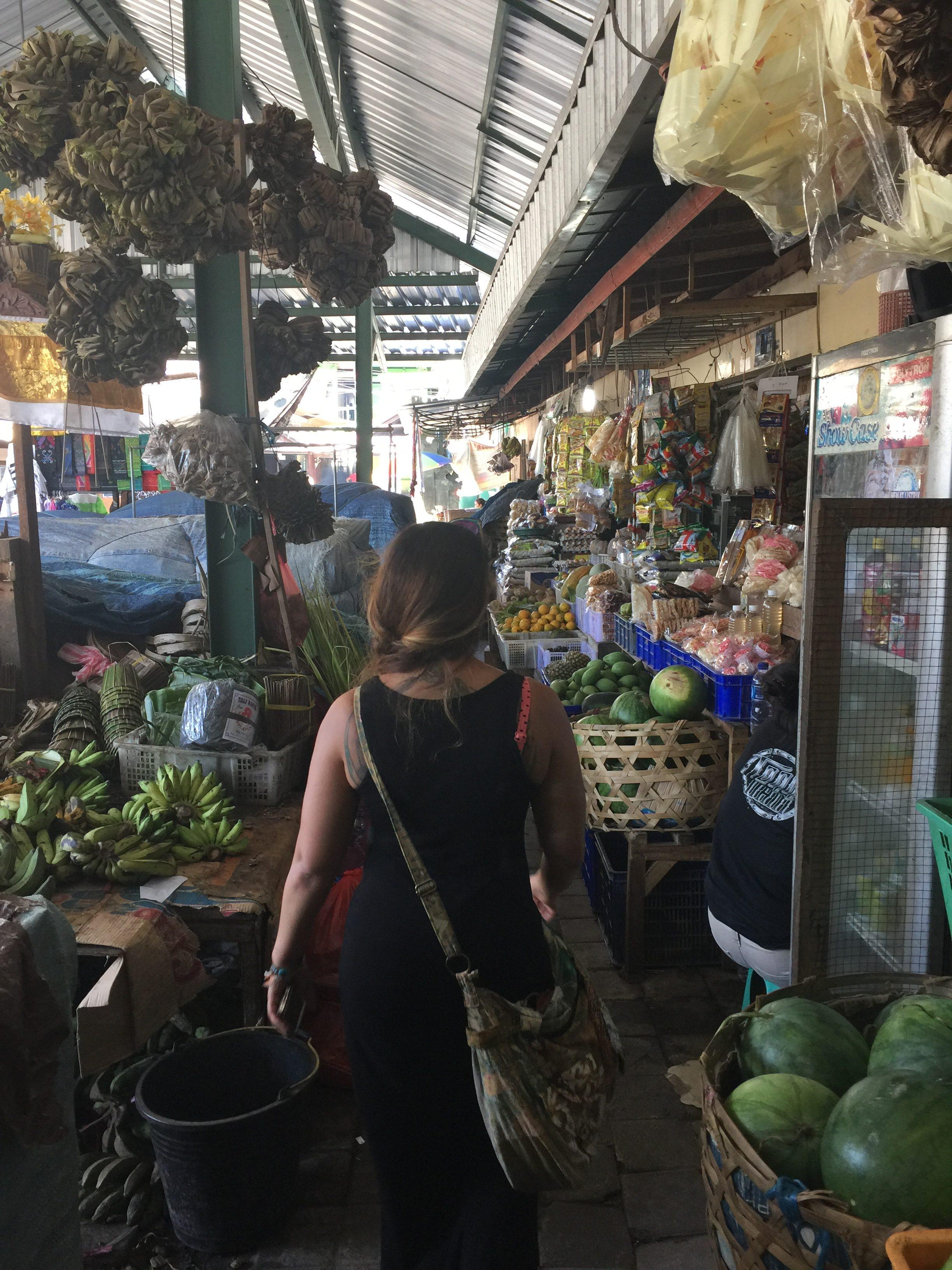 Kuta market