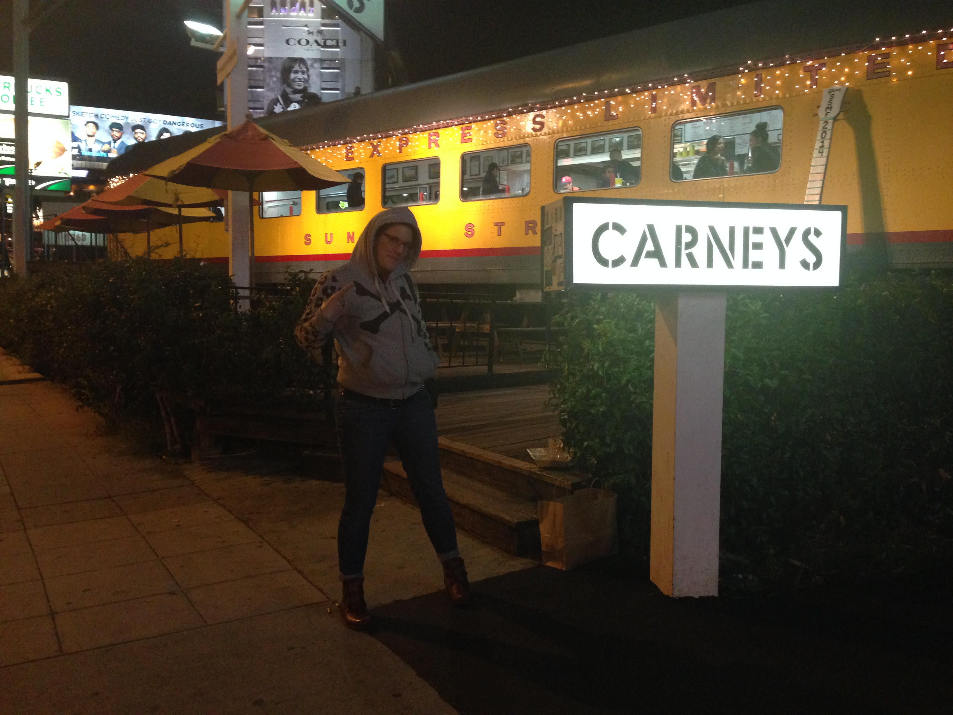 Carneys on Sunset Boulvard