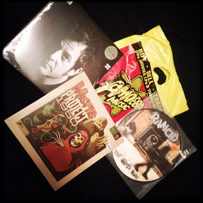 My Vinyl purchases