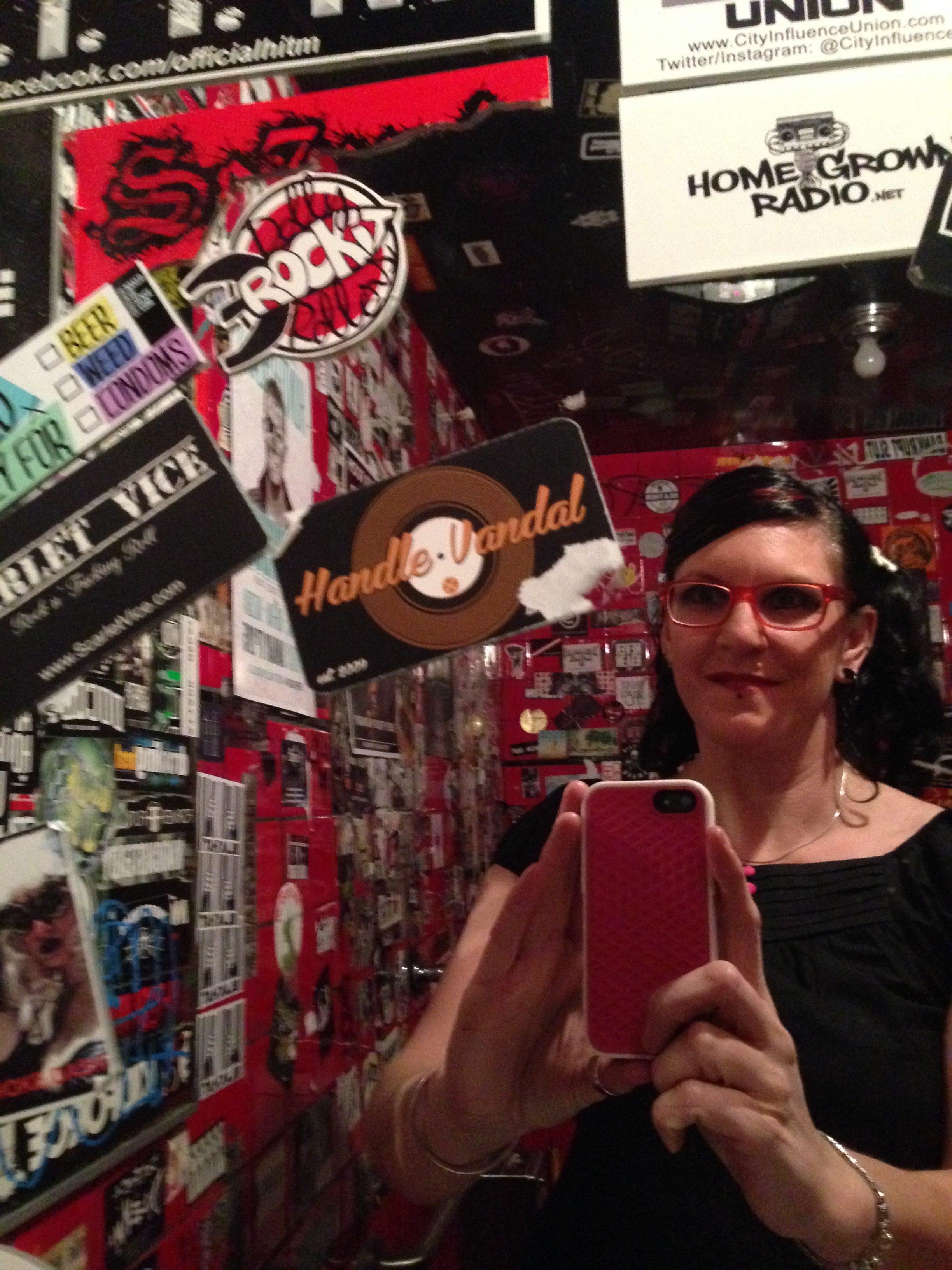 Dolly Sticker in The Viper Room