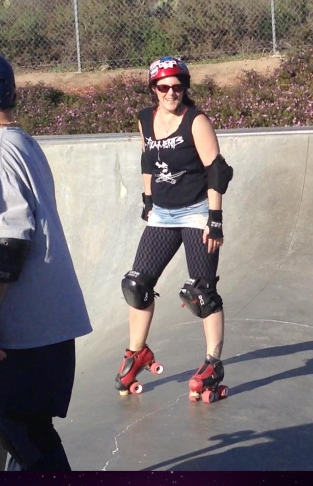 Skating Etnies skatepark
