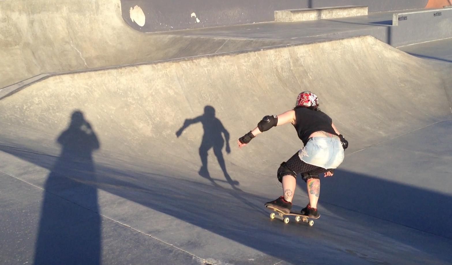 Me on my skateboard