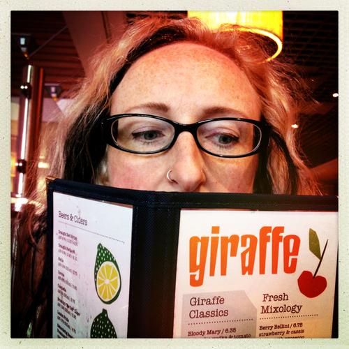 Gab at Giraffe