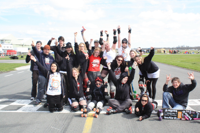 The Skati skaters!