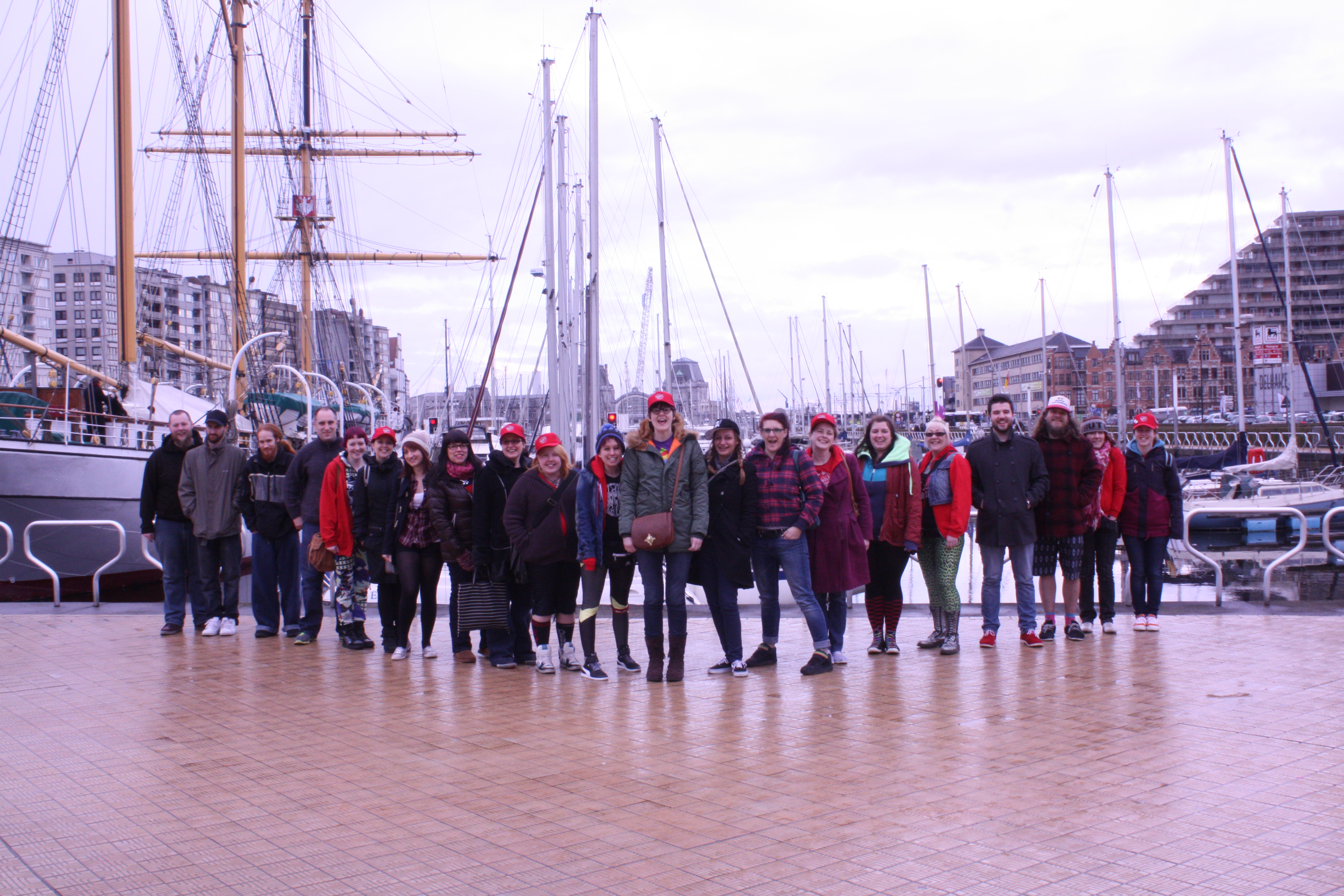 Team shot by boats!