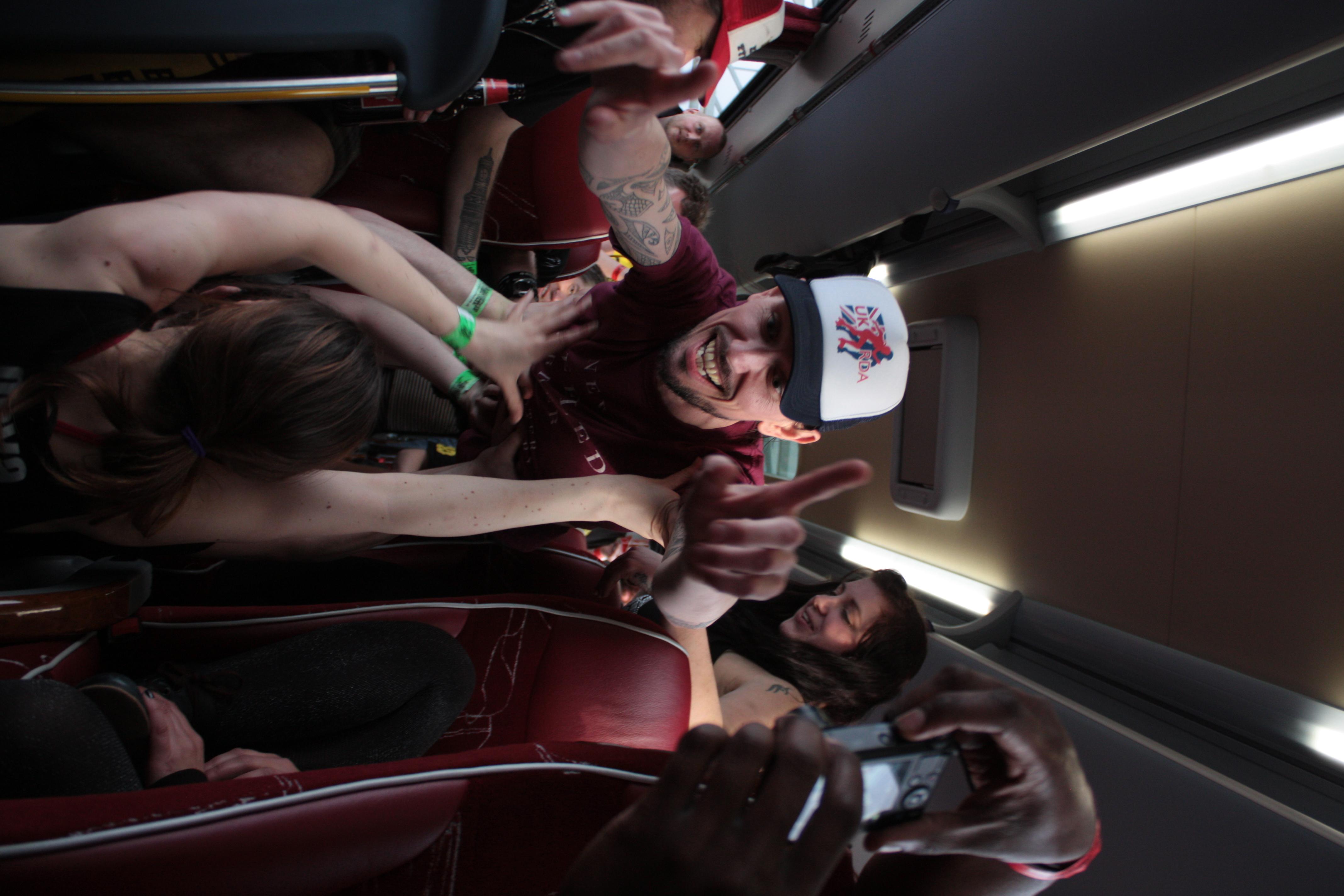 Bus surfing