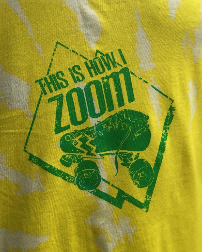 This is how I zoom yellow vest top